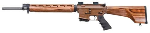 "Windham Weaponry .308 Hunter SA 18"" Barrel, Nutmeg Laminate Wood Stock, 5rd"