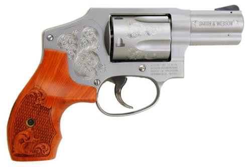 "Smith & Wesson 640 357 Mag Engraved, 2.1"" Barrel, 5rd"