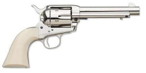 Uberti 1873 Cattleman Nickel-Ivory (Cody) 45 Colt 4 3/4