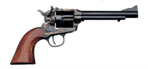 """Uberti 1873 Cattleman New Model Stallion Target, 22LR, 5.5"""", Steel"""
