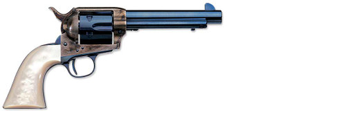 "Uberti 1873 Cattleman Frisco Charcoal Blue-Pearl 45 Colt 5 1/2"" Barrel#2"