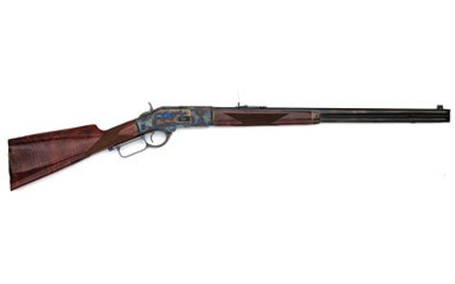 """Gibbs Navy Arms 1873 Lever Action Rifle, .357 Mag, 24"""" Octagon Barre Turnbull Color Case Hardened"""