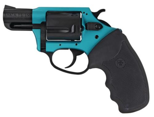 """Charter Arms Sante Fe Undercover Lite, .38 Special +P, 2"""", 5rd, Turqoise/Black"""