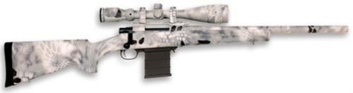 "Legacy Kryptek Full Dip Rifle Package .223 Remington 20"" Heavy Barrel 4-16x44mm Nikko Stirling Scope Raid Camouflage 5rd"