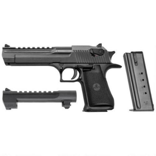 "Magnum Research Desert Eagle Mark XIX Combo, .44 Mag/.50 AE, 6"", 7/8 rd, Black"