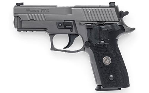 """Sig P229 Legion .357 Sig, 3.9"""", Legion Gray, DA/SA, Black G10 Grips, 3x12rd Steel Mags, SRT"""