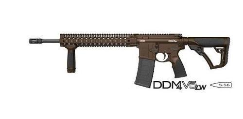 Daniel Defense DDM4 V5 AR-15 Brown CeraKote, 30 Round Mag
