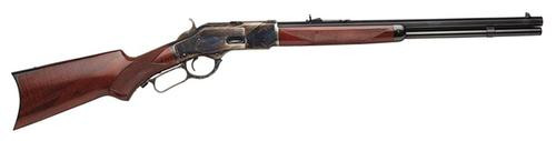 "Taylor's 1873 Lever .357 Rem Mag 20"" Octagon, Walnut Stock, CH Receiver Blued"