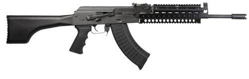 I.O. AK-47 7.62X39 Quad Rail, Black Stock 30 Rd Mag