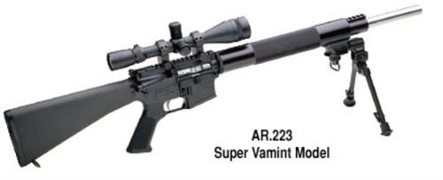 "Les Baer AR ULTIMATE Super Varmint 24"" 223"
