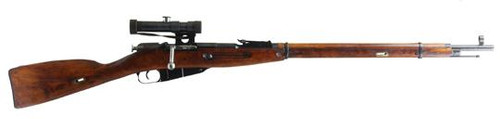 Mosin Nagant M91/30 Sniper Rifle With Scope And Cleaning Accessories, Surplus, Very Good Condition