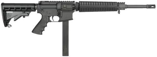 "RRA LAR-40 A4 Mid-Length System AR-15 40 S&W 16"" Barrel, 6 Pos Stock Black, 30rd"
