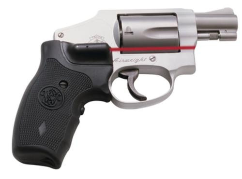 "Smith & Wesson 642 Airweight .38+P, 1.875"" Stainless Barrel, No Internal Lock, Fixed Sight, Crimson Trace Grips, 5 Round"
