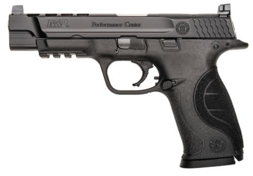 "Smith & Wesson M&P 9 Performance Center 9mm 5"" Ported Barrel, 17 Rnd Mag"
