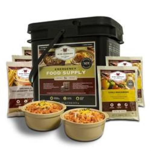 Wise Company Breakfast & Entree 56 Serving Grab And Go Bucket, 25 Yr Shelf Life