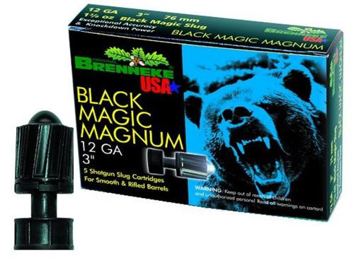 "Brenneke Black Magic Magnum 12 Ga, 3"", 1-3/8oz Slug, 5rd/Box"