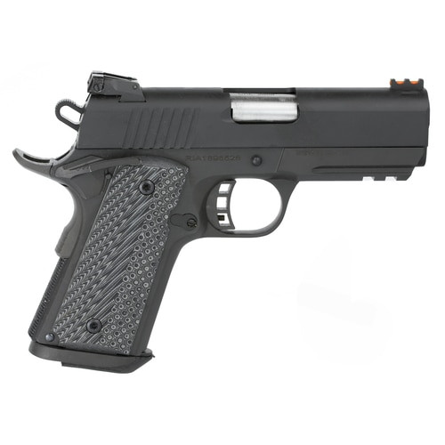 "Rock Island 1911 9MM, 3.5"" Barrel, Steel Frame, Adjustable Sights, 8 Rd Mag, Ambi Safety"