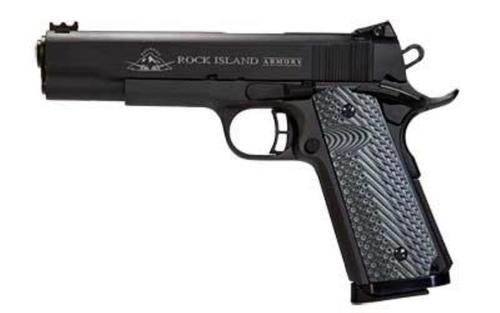"Rock Island Armory Ultra 45 ACP 4.25"" Barrel Adjustable Rear Sight Fiber Optic Front Sight G10 Grips 8rd Mag"