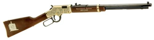 """Henry Golden Boy Lincoln Bicentennial Edition 22LR 20"""", Walnut Stock, Hand Engraved & Painted, Laser Etched"""
