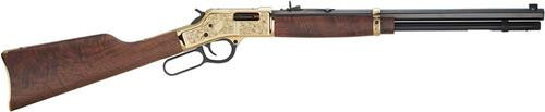 "Henry Big Boy Deluxe Lever Rifle, .357 Mag, 20"", 10rd, Engraved 3rd Edition"