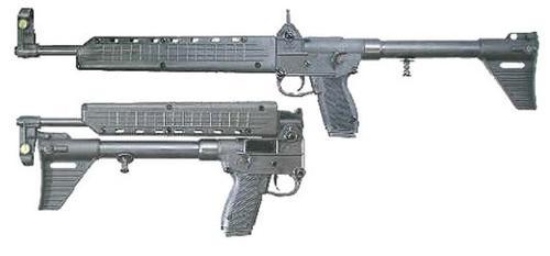 Kel-Tec Sub 2000 40 SW, Glock 22 Grip, 10rd Mag