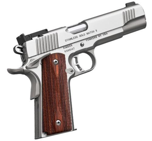 Kimber Stainless Gold Match II (2016) 45 ACP