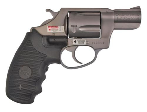 Charter Arms Crimson Undercover, .38 Special, 5rd, Crimson Trace Grip, Stainless