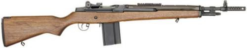 "Springfield M1A Scout Squad SA 308 Win 18"" Walnut Stock Blue 10rd"