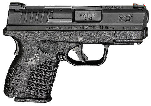 "Springfield XDS 45 ACP, 3.3"", 5 Rds, Black, Essentials Package"