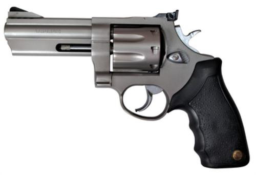 "Taurus 608 Standard 357 Mag 4"" Ported Barrel, Adjustable Sight, Rubber Grip SS Finish, 8 Rounds"