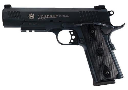 Taurus 1911 Pistol, Blue, Picatinny Rails