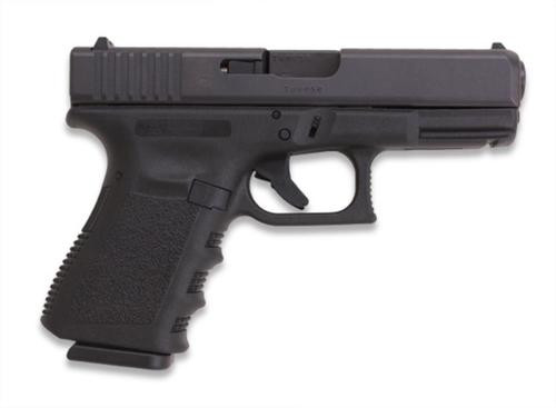 "Glock G38 Standard 45 GAP 4.02"" Barrel, Fixed Sights Poly Grip/Frame Blac, 8rd"