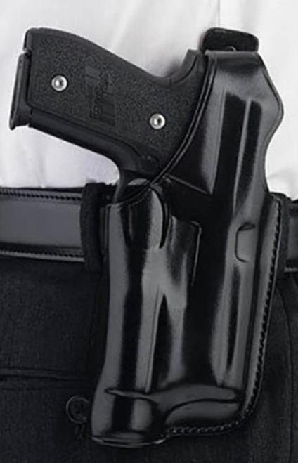 "Galco Halo Glock 17, Belt to 1.75"", Black, RH"