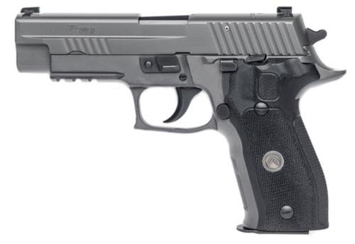 "Sig P226 Legion .40 S&W, 4.4"" Barrel, Legion Gray, PVD Finish, High Visibility Day/Night Sights, G-10 Grips, 10rd"