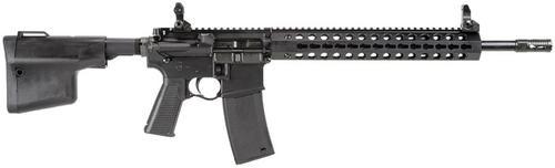 "Troy Spec Purpose Carb A4 SA 223/5.56 16"" Barrel, BattleAx Col Stock Black, 30rd"