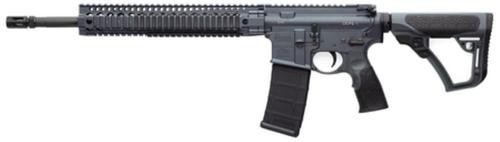 "Daniel Defense M4 V5 AR-15 5.56/223 16"" Chrome Lined Barrel Mid-Length Gas System 12"" DDM4 Rail, Tornado (Gray) Cerkote Finish"