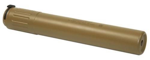 AAC MK13-SD Rifle Silencer 7.62mm NATO/300 Win Mag 90 Tooth Ratchet Mount Desert Tan - All NFA Rules Apply