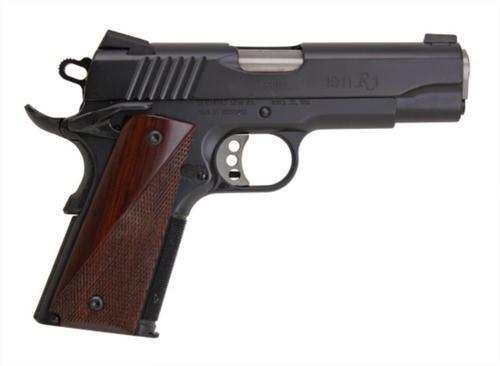 Remington 1911 R1 Carry Commander Single 45 ACP 4.25 Cocobolo Grip Black