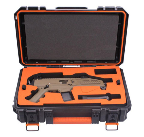 CZ Scorpion 9mm Flat Dark Earth Finish with Peak Fitted Case & 2 20 Rd Mag & 1 30 Rd Mag
