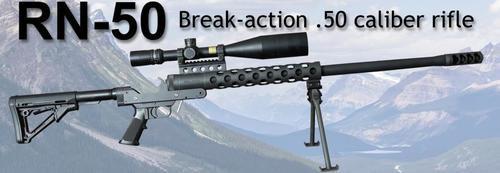 "Serbu RN-50 Single Shot 50 BMG Rifle 29.5"" Barrel, No Butt Stock (Uses AR-15 Stock)"
