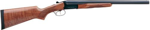 "Stoeger Coach Gun SxS, AA-Grade Gloss Walnut Stock, Blue 12 Ga, 20"" Barrel"