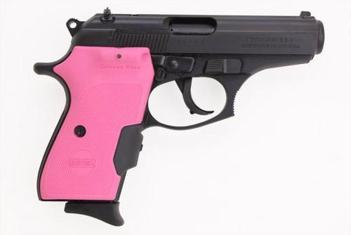 Bersa Thunder .380 with Pink Crimson Trace Laser Grips