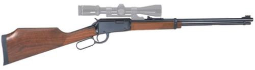 "Henry Lever Varmint Express . 17 HMR 20"" Barrel American Walnut Stock Blue"