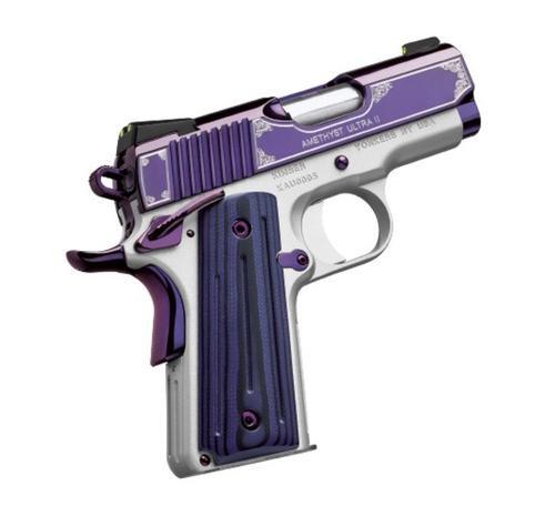 "Kimber Amethyst Ultra II 45 ACP, 3"", 7rd, Amethyst Purple"
