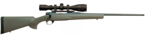 "Howa/Hogue GameKing Scope Package .223 Remington 22"" Contour Barrel Blue Finish Olive Drab Green Hogue Stock 5rds With GameKing 3.5-10x44mm Riflescope"