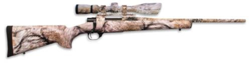 """Howa Ranchland Compact Rifle/Scope Package .22-250 Remginton 20"""" Heavy Barrel Synthetic Stock Full Coverage YOTE Camouflage Finish 5rd With 2.5-10x42mm Nighteater Riflescope"""
