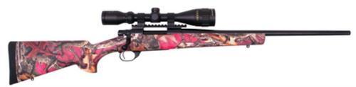 "Howa/Gameking Camo Package .243 Winchester 20"" Lightweight Blued Barrel Synthetic Stock Foxy Woods Camouflage Finish Gameking 3.5-10x44mm Riflescope 5rd"