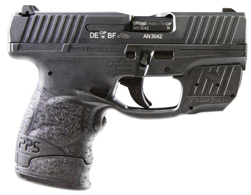 Walther PPS M2 9mm With Crimson Trace Laser, 2 Mags 6rnd &7 Rd