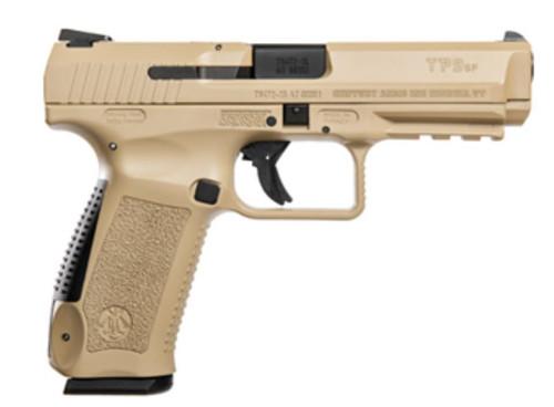 "Century Arms Canik TP9SF Desert Tan 9mm, 4.4"" Barrel, 18rd Mag"