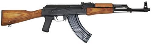 """F.A. Cugir Romanian AK-47 GP WASR HI-CAP 16"""" Barrel, No Brake, Military Stock 7.62x39 30 Rnd Mag"""